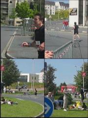Passage de Hubert à 500 mètres de l'arrivée  [5,28Mo]